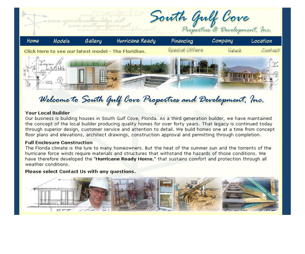 A Construction Company Website